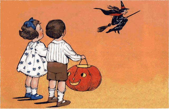 ハロウィーン 英語 子ども